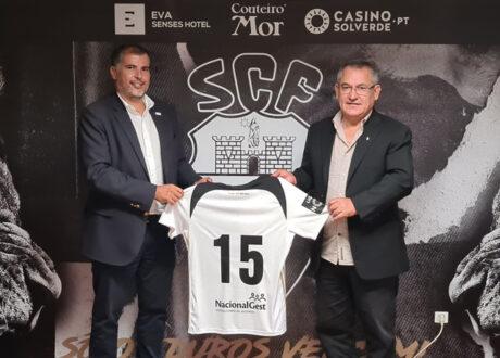 NacionalGest renova patrocínio ao SC Farense